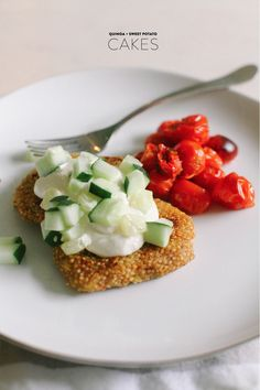 Quinoa + Sweet Potato Cakes |   Read more - http://www.stylemepretty.com/living/2013/07/17/quinoa-sweet-potato-cakes/