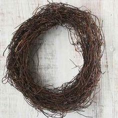 "8"" Angel Hair Vine Wreath $3.99"