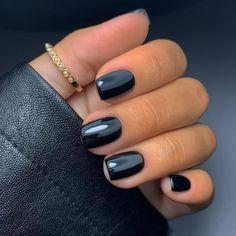 Black Manicure, Black Nail Polish, Black Nails, Pink Nails, Nail Pro, Industrial Wedding, Nail Trends, Nail Art Designs, Acrylic Nails
