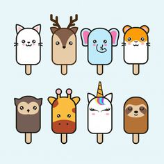Find animal stock images in HD and millions of other royalty-free stock photos, illustrations and vectors in the Shutterstock collection. Cute Food Drawings, Cute Animal Drawings Kawaii, Mini Drawings, Griffonnages Kawaii, Kawaii Disney, Doodles Kawaii, Cute Doodles, Cute Doodle Art, Cute Art