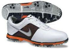 Nike Lunar Control White/Grey/Orange - Golf Shoes