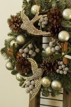 christmas wreath 2012 by mellow_stuff, via Flickr