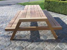 Build A Picnic Table, Picnic Tables, Garden Bench Plans, Ikea Bar, Outdoor Tables, Outdoor Decor, Furniture Showroom, Teak, Backyard