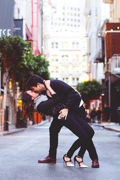 Romantic San Fransisco Engagement Shoot | http://brideandbreakfast.ph/2015/05/26/city-tale/ | Photography: Danielle Rueda