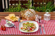 Schweizer Wurstsalat mit Appenzeller-Dressing