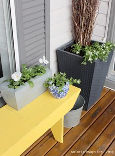 Spring Front Porch- Adding Cottage Charm + Giveaway!