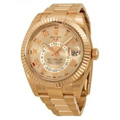 Rolex Herrenuhr 326935 Sky Dweller Gold-Everose