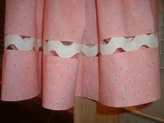 How to ric rac insert - Wow! The tutorial Jerry posted when we made these pillowcase dresses.