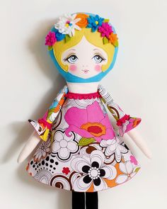 Poppy - PDF Pattern Cloth Doll