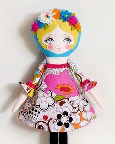 Poppy  PDF Pattern Cloth Doll por LolliDolls en Etsy, $15.00