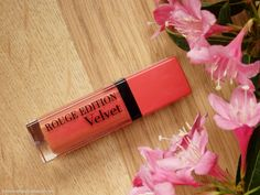 Review of Bourjois Rouge Edition Velvet 04 Peach Club