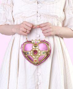 """sailor moon"" ""sailor moon compact"" ""sailor moon merchandise"" ""sailor moon toys"" ""sailor moon plush"" ""cosmic heart"" purse pouch bag case fashion japan anime shop"