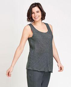 FLAX Designs' FLAX Transition 2015 Sleeveless Bias   Fg Clothing #FLAXdesigns #FLAXclothing #Linenclothing #flaxtop #linentop #flaxblouse #linenblouse #sleevelesstop #naturalclothing