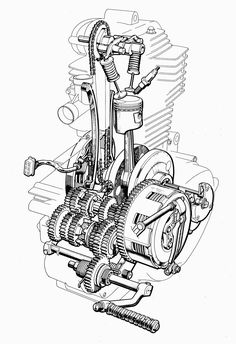 4 stroke engine