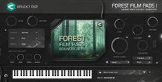 Vsti / Au plug-in instrument Forest film pads 1 - cinematic soundscapes, strings, atmospheric sound textures for electronic music production Black Forest, Electronic Music, Choir, Plugs, Instruments, Singing, Triangle, Spirituality, Bird