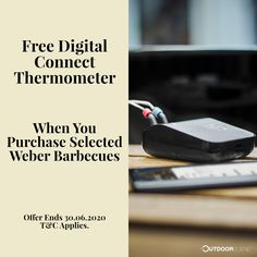 ❗New promo on Weber Genesis Gas Barbecues is now on! ❗ Receive a free Weber Connect Smart Grilling Hub when you purchase any selected gas bbq between 21.05.20 - 30.06.20, and register it on Weber.com before 31.07.20.  #weber #gasbarbecue #barbecue