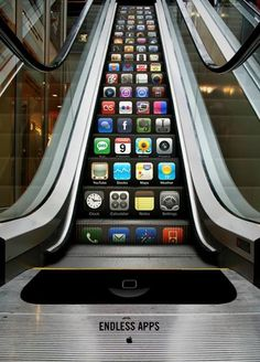 A very clever iPhone ad!  Curated by: Transition Marketing Services | Small Business Branding / Marketing Solutions http://www.transitionmarketing.ca