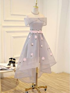 Discount Trendy Short, With Appliques Homecoming Dresses Short Prom Dresses With Appliques Prom Dresses 2019 High Low Prom Dresses, Cute Prom Dresses, Cheap Dresses, Pretty Dresses, Homecoming Dresses, Sexy Dresses, Short Dresses, Fashion Dresses, Dress Prom