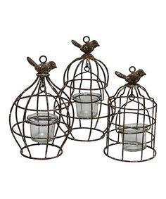 94 best birdcages images bird cages birdcages birdhouses Dove Cage Set Up christopher birdcage candleholder set