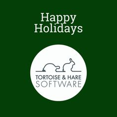 As we bring 2020 to and end, we'd like to wish you all a happy holiday. Software Development, Hare, Tortoise, Happy Holidays, Wish, Tortoise Turtle, Turtles, Happy Holi, Bunny