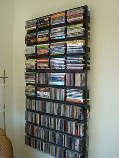 Minimalist Media Storage.
