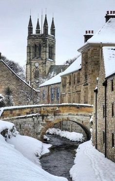 Helmsley Winter, North Yorkshire, England Photography by Martin Williams Yorkshire England, North Yorkshire, Yorkshire Dales, Cornwall England, Yorkshire County, Dorset England, Places To Travel, Places To See, Bósnia E Herzegovina