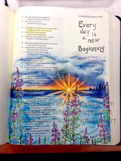 AMAZING Bible journaling page. Love it!