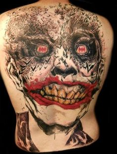 10 Tattoos Of The Joker That Will Make You Smile http://amazingtattoos.dailypix.me/10-tattoos-of-the-joker-that-will-make-you-smile