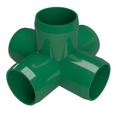Build center supports of structural PVC applications with the Formufit 1 in. This specialty PVC cross connector joins 5 lengths of 1 in. 40 PVC pipe at 5 points, 4 horizontal and 1 vertical. Bushcraft, Furniture Grade Pvc, Five Points, Pvc Projects, Copper Tubing, Pvc Material, Surface Finish, 5 Ways, Plumbing