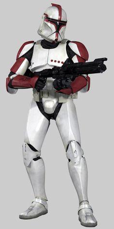 clone trooper captain   Star Wars Clone Trooper captain