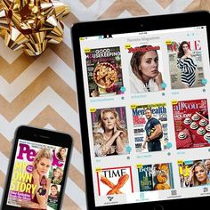 Last-minute tech gifts: Texture digital magazine subscription