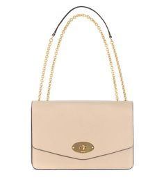MULBERRY Large Darley Leather Shoulder Bag. #mulberry #bags #shoulder bags #leather #lining #