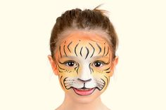 Bengal Tiger Face Paint