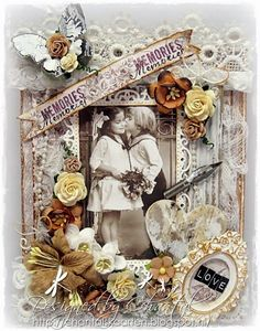 Cards made by Chantal: Memories of love...