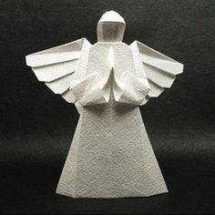Origami Angel | Tektonten Papercraft