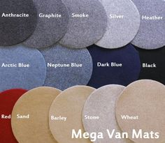 megavanmats.com 'trim velour' - more colour choice than the super stretchy stuff. Stone or Barley?