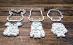 Despicable Me Cookie Cutters by grezmel - Thingiverse