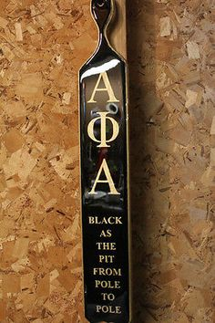 Alpha Phi Alpha Custom Paddle - Learn how to easily make $100s and even $1000s of dollars for your Sorority/Fraternity or yourself!