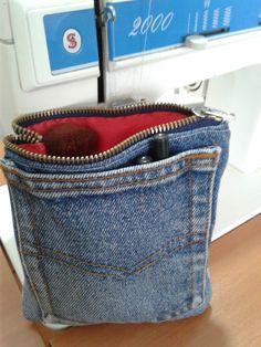 Dıy, jeans, çanta,