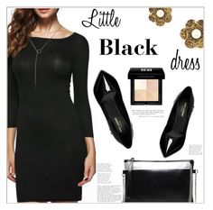 """Little Black Dress"" by mycherryblossom ❤ liked on Polyvore featuring Yves Saint Laurent and Givenchy"