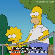 When she was ridiculously empathetic. | 23 Times Springfield Didn't Deserve Lisa Simpson