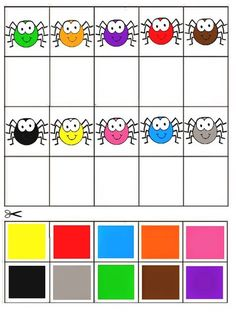 Coloring Games for Preschool Best Of Free Printable Matching Games Color Matching Activity Preschool Learning Activities, Color Activities, Kindergarten Worksheets, Preschool Activities, Teaching Kids, Kids Learning, Preschool Colors, Preschool Centers, Kindergarten Lesson Plans