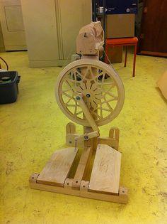 Zephyr Spinning Wheel by John Tribe 2