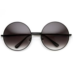 round sunglasses, layers | Poses with Roses: OVERSIZE VINTAGE INSPIRED METAL ROUND CIRCLE SUNGLASSES 8370