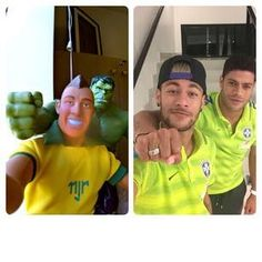 NEYMAR JR HANDSOME AND YOUNG FOOTBALL PLAYER. NUMBER ONE PLAYER IN BRAZIL TEAM♥