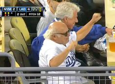 #DannyDevito may be no Katherine Webb, but the veteran actor easily stole the spotlight from the sidelines during the team's 4-2 victory over the Mets at #DodgerStadium on Aug 12, 2013  http://celebhotspots.com/hotspot/?hotspotid=6452&next=1