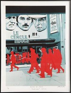 Le Cercle rouge,Gérard Fromanger, 1971