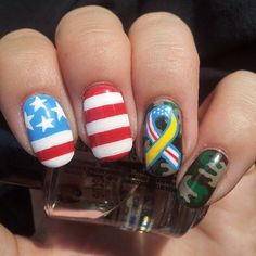 Our Favorite Military Themed Nail Art - Cult Cosmetics Magazine