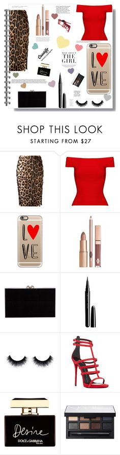"""Happy Valentine's"" by ayannap ❤ liked on Polyvore featuring Altuzarra, Posh Girl, Casetify, Charlotte Olympia, Marc Jacobs, Giuseppe Zanotti, Dolce&Gabbana, NARS Cosmetics, Kershaw and Tiffany & Co."