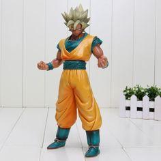 Dragon Ball Z Super Saiyan SSJ2 Son Goku Tan Skin Tone PVC Action Figure #Dragon #Ball #Z #DBZ #Super #Saiyan #SSJ2 #Son #Goku #Tan #Skin #Tone #PVC #Action #Figure #Saiyanstuff